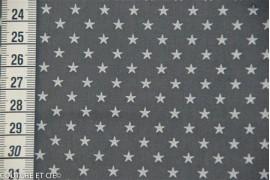 Batiste orageux étoiles blanches