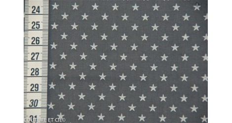 Batiste orageux étoiles blanches dans FRANCE DUVAL STALLA par Couture et Cie