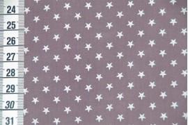 Batiste figue étoiles blanches