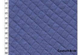 Jersey matelassé bleu dans FRANCE DUVAL STALLA par Couture et Cie