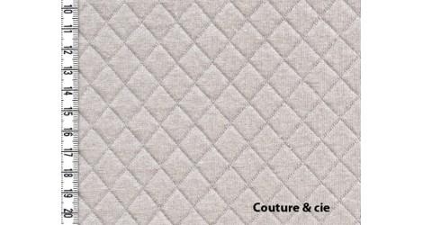 Jersey matelassé brume dans FRANCE DUVAL STALLA par Couture et Cie