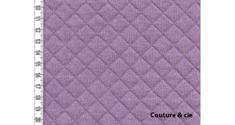 Jersey Matelassé figue dans FRANCE DUVAL STALLA par Couture et Cie