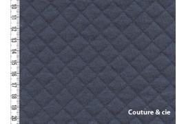 Jersey Matelassé gris, x10cm