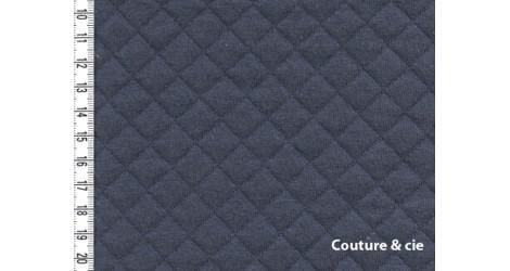 Jersey Matelassé gris dans FRANCE DUVAL STALLA par Couture et Cie
