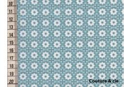 Tissu Esterelle bleu glacier