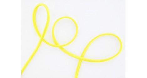 Cordon soie jaune fluo dans Cordons soie par Couture et Cie