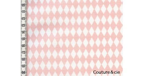 Tissu Diamonds poudre dans LINNAMORATA par Couture et Cie