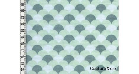 Tissu Namisca bleu gris, coupon 80*150cm dans LINNAMORATA par Couture et Cie