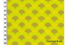 Tissu Namisca moutarde