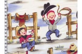 Tissu Cowboy Lil Cowpokes