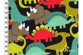 Tissu Dino-Mites, coupon 33*110cm
