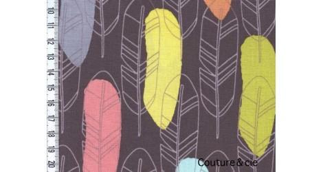 Tissu Quill marron dans MICHAEL MILLER par Couture et Cie