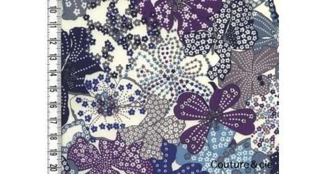 Tissu Liberty Mauvey violet dans Tissus LIBERTY OF LONDON par Couture et Cie