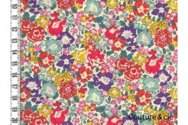 Tissu Liberty Michelle multicolore