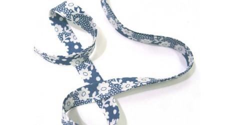 Biais Liberty Millie bleu dans Biais Liberty par Couture et Cie