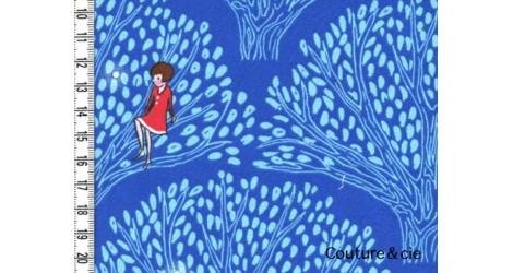 Tissu Tree Lights bleu dans MICHAEL MILLER par Couture et Cie