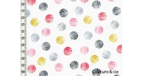 Tissu Mori Girls, Dots dans DASHWOOD STUDIO par Couture et Cie