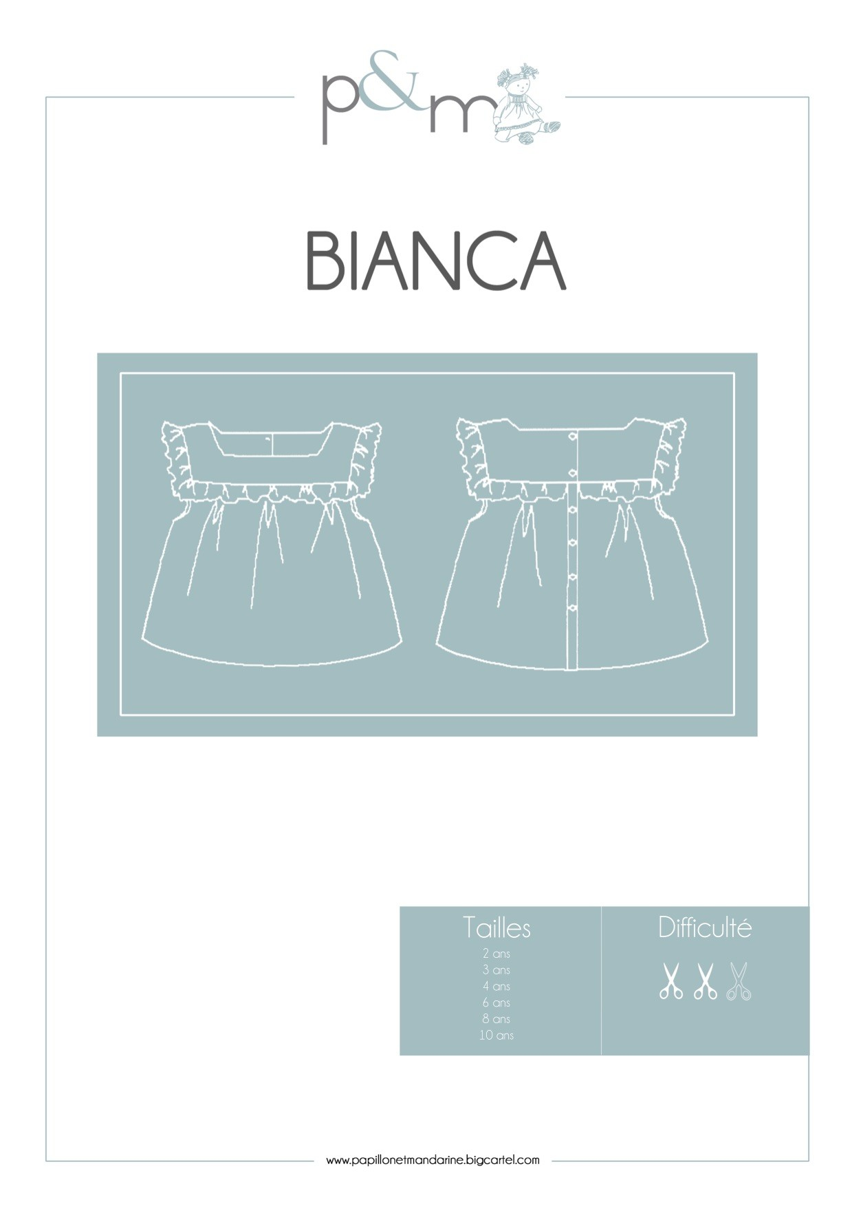 Patron Blouse Bianca