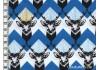 Tissu Echino Huedrawer Cerf bleu dans TISSUS JAPONAIS par Couture et Cie
