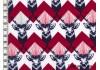 Tissu Echino Huedrawer Cerf rouge dans Echino par Couture et Cie