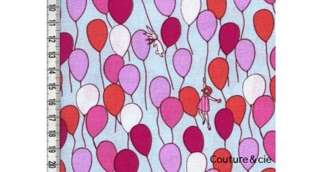Tissu Michael Miller Balloons, coupon 33*110cm dans MICHAEL MILLER par Couture et Cie