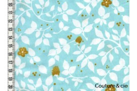 Tissu Brambleberry aqua