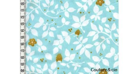 Tissu Brambleberry aqua dans MICHAEL MILLER par Couture et Cie