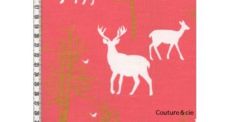 Tissu Timber Valley corail dans MICHAEL MILLER par Couture et Cie