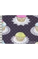 Tissu Cupcakes