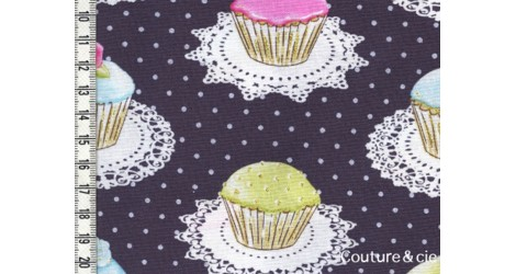 Tissu Cupcakes dans MICHAEL MILLER par Couture et Cie