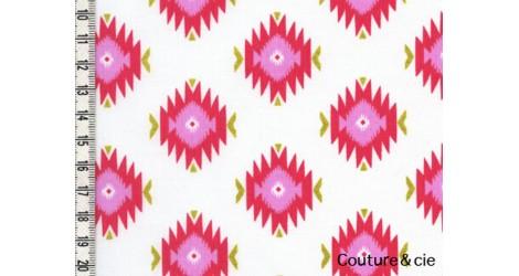 Tissu Glitzy Diamond corail dans MICHAEL MILLER par Couture et Cie