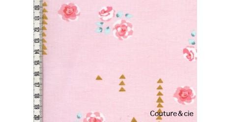 Tissu Rosemilk rose camée dans MICHAEL MILLER par Couture et Cie