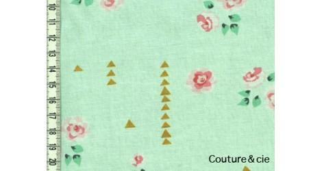 Tissu Rosemilk vert menthe dans MICHAEL MILLER par Couture et Cie