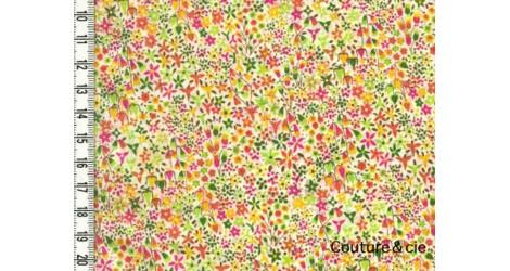 Tissu Liberty Eve B dans Batistes Tana Lawn par Couture et Cie