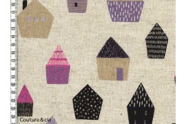Tissu Maisons