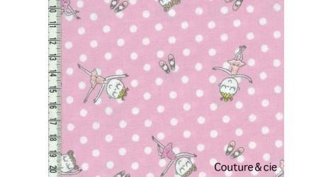 Tissu Danseuses dans Kokka par Couture et Cie