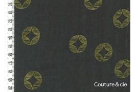 Tissu Ellen Baker Monochrome