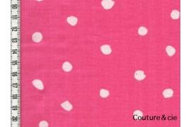 Nani Iro- POcho rose bonbon
