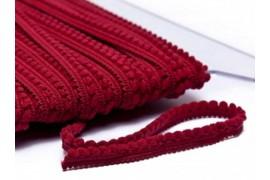 Galon Petits pompons rouge bordeaux dans Galons pompons par Couture et Cie