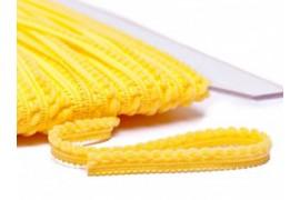 Galon Petits pompons jaune dans Galons pompons par Couture et Cie