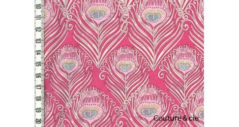 Tissu Liberty Caesar rose dans Batistes Tana Lawn par Couture et Cie