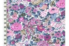 Tissu Liberty Elysian vieux rose dans Batistes Tana Lawn par Couture et Cie