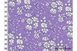 Tissu Liberty Capel violet