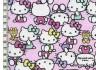 Tissu Hello Kitty rose dans Kiyohara par Couture et Cie
