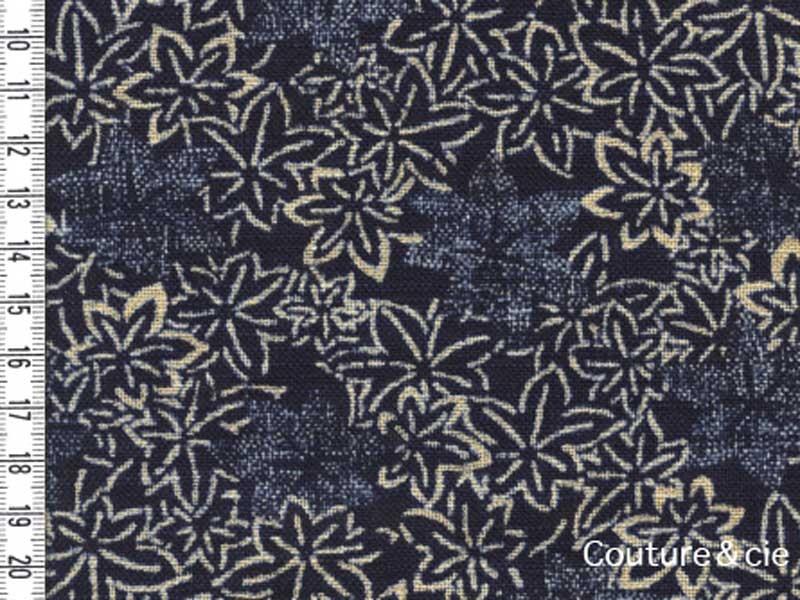 Tissu Sevenberry feuilles d'érable