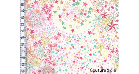 Tissu Liberty Adelajda soleil dans Batistes Tana Lawn par Couture et Cie