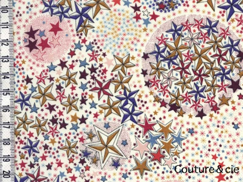 Tissu Liberty Adelajda terracotta