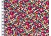 Tissu Liberty Betsy ann rouge garance x10cm dans Batistes Tana Lawn par Couture et Cie