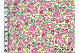 Tissu Liberty Betsy ann sweet pink