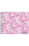 Tissu Liberty Mitsi Valeria orchidée rose